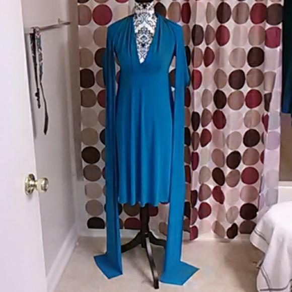 Avon Dresses & Skirts - Sexy blue infinity dress